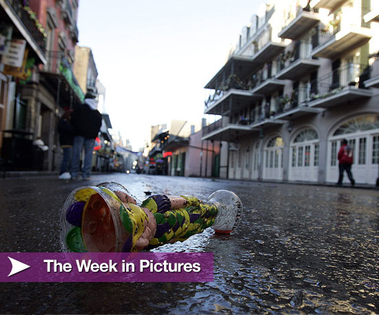 Fashion Week, Mardi Gras, and Winter Olympics Photos