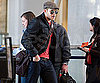Photo Slide of Kellan Lutz at LAX