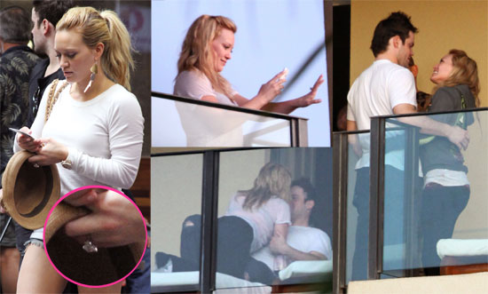 Photos of Hilary Duff&#039;s Engagement Ring