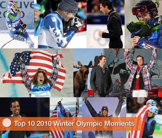 The Top 10 US Moments of the Winter Olympics, So Far