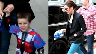 Victoria Beckham at Cruz Beckham's Birthday Party