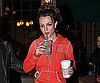 Slide Photo of Britney Spears With Starbucks