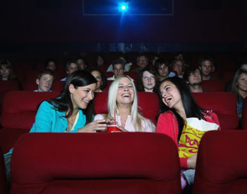 Women Are Going to Movies While Their Boyfriends Play Video Games