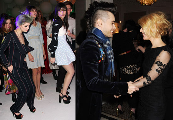 Photos of Elle Style Awards Afterparty with My So-Called Life Reunion Between Jared Leto and Claire Danes, Alexa Chung Dancing