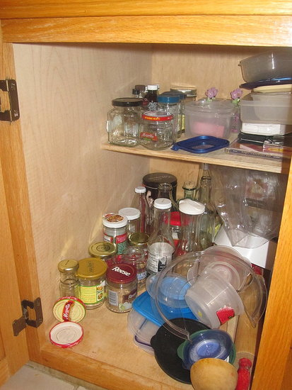 Tupperware and Jars
