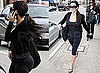 Kim Kardashian Shows Off Her Assets in Workout Gear