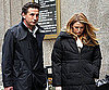 Slide Photo of Blake Lively and Billy Baldwin on Gossip Girl Set