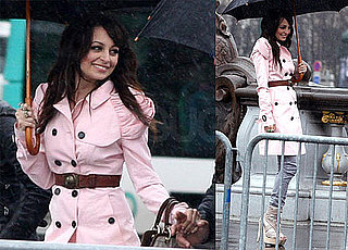 Photos of Nicole Richie In Pink At A Photo Shoot in Paris