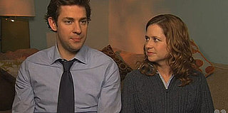 Video of John Krasinki and Jenna Fischer Talking About Baby Halpert's Arrival on The Office