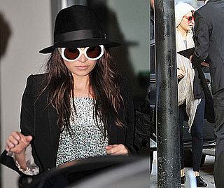 Photos of Nicole Richie Arriving in London From Paris