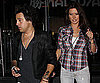 Slide Photo of Ryan Cabrera and Audrina Patridge at Sushi