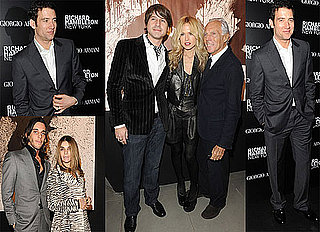 Photos of Clive Owen and Rachel Zoe at the Richard Hambleton Show Hosted by Vladimir Restoin-Roitfeld During Milan Fashion Week 2010-02-26 08:45:00