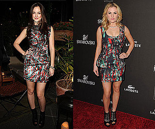 Leighton Meester and Anna Paquin Wear Marios Schwab