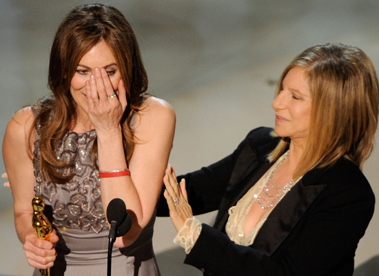 Biggest Milestone: Kathryn Bigelow Wins Best Director