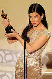 Photos of Sandra Bullock and her Oscar