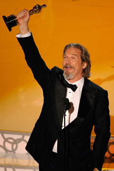 Photos of Jeff Bridges Oscar Win