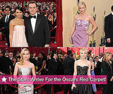 The Stars Arrive For the Oscars Red Carpet!