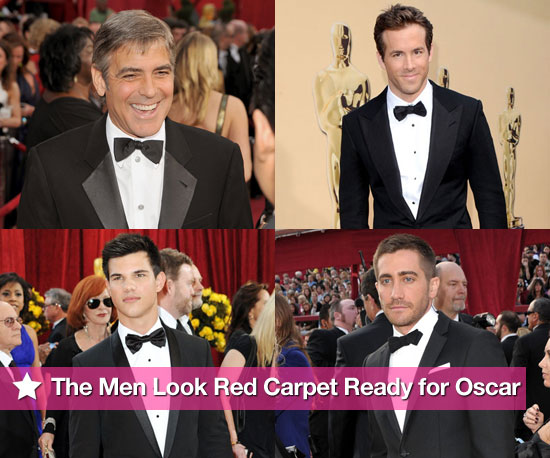 The Men Look Red Carpet Ready For Oscar