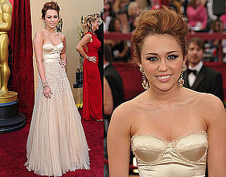 Miley Cyrus at 2010 Oscars