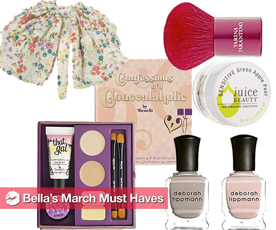 Bella's March Must Haves
