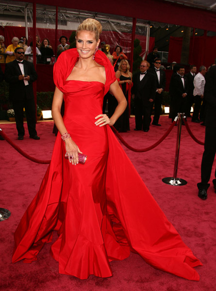 Heidi Klum at the 2008 Academy Awards