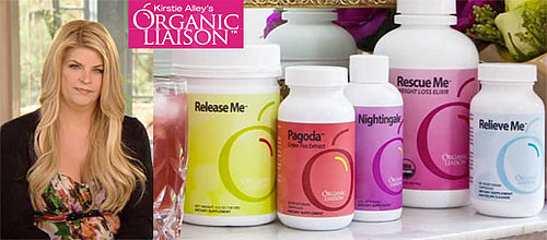 Kirstie Alley's Organic Liason Weight Loss Program