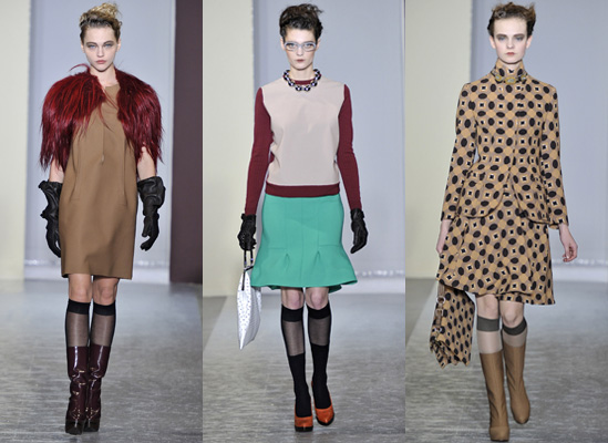 Catwalk photos of Marni Autumn 2010 at Milan Fashion Week