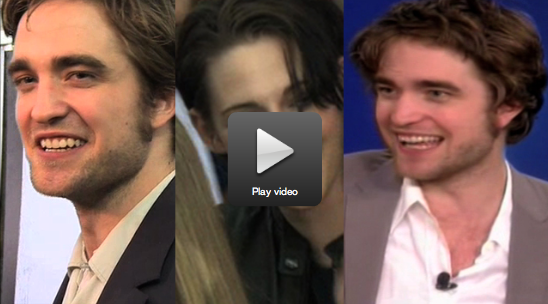 Robert Pattinson talks about Remember Me on the red carpet and on The View