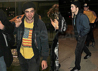 Photos of Robert Pattinson at JFK After Remember Me Premiere in NYC