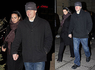 Photos of Matt and Luciana Holding Hands After Eating Dinner in Berlin Germany