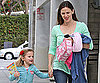 Slide Photo of Jennifer Garner and Violet in LA 2010-03-03 06:30:00