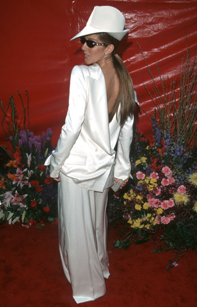 Celine Dion at the 1999 Academy Awards