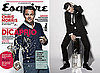 Photos of Matt Smith Doctor Who and Interview Quotes in Esquire April 2010 Issue Leonardo DiCaprio on Cover
