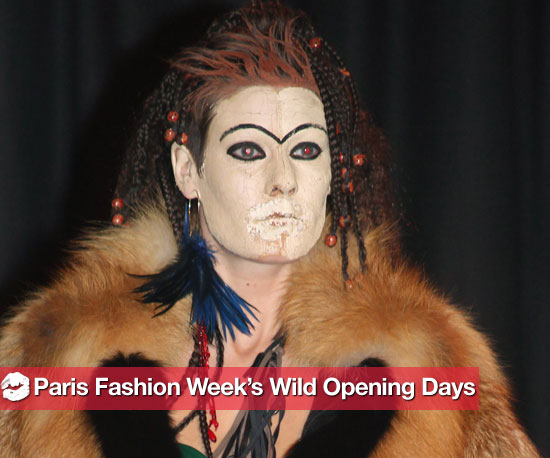 Paris Fashion Week's Wild Opening Days