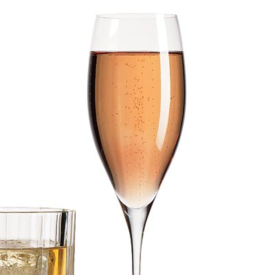Easy Pink Champagne Cocktail Recipe