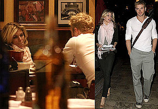 Photos of Twilight's Kellan Lutz and AnnaLynne McCord Eating Together in LA