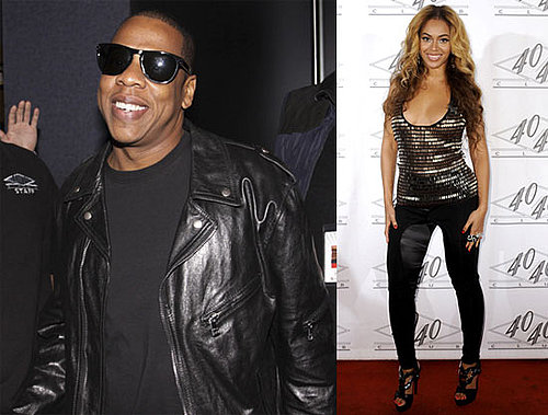 Photos of Jay-Z, Beyonce Knowles, And LeBron James in NYC For Jay-Z's Madison Square Garden Concert 2010-03-03 11:00:44