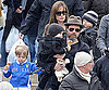 Slide Photo of Brad Pitt and Angelina Jolie with Shiloh, Knox and Vivienne in Venice
