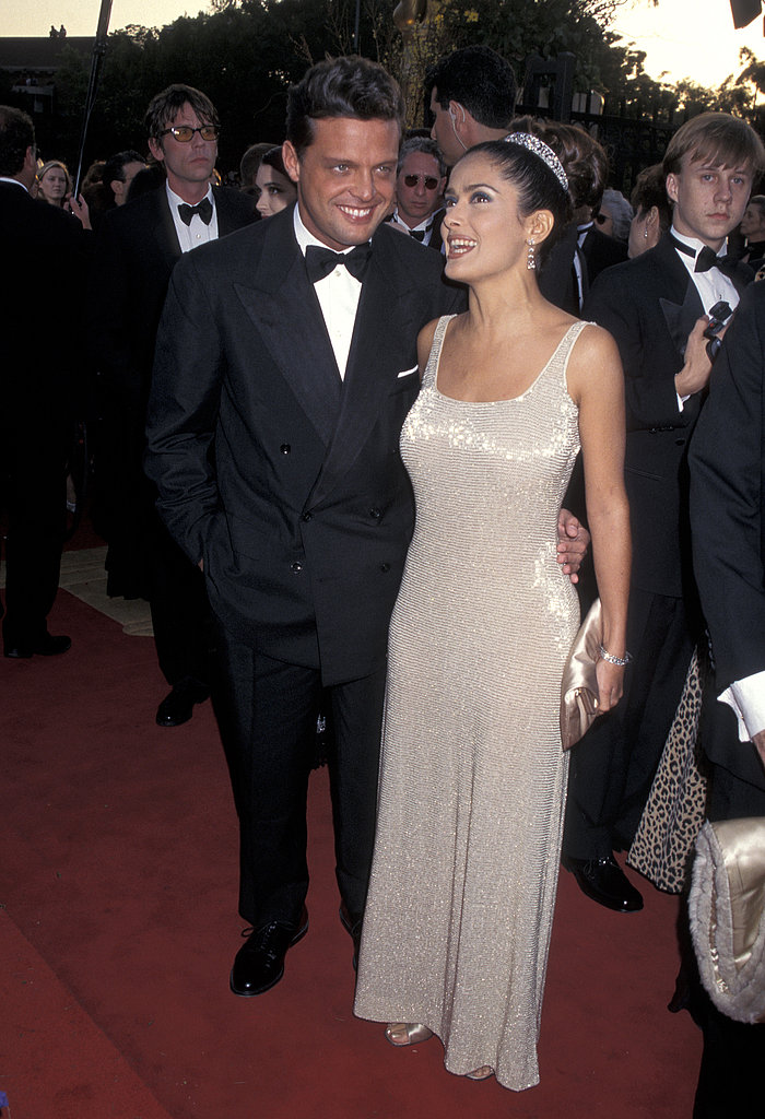 Salma Hayek at the 1997 Academy Awards