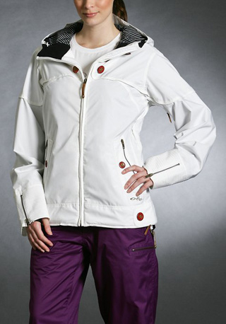 Gretchen Bleiler Lighter Fare Eco Jacket, white ($270)