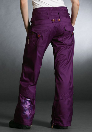 Gretchen Bleiler Profile Lite Pant, purple ($200)