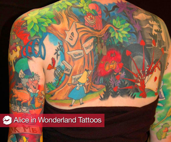 Your Body Is a Wonderland: 10 Alice-Inspired Fan Tattoos