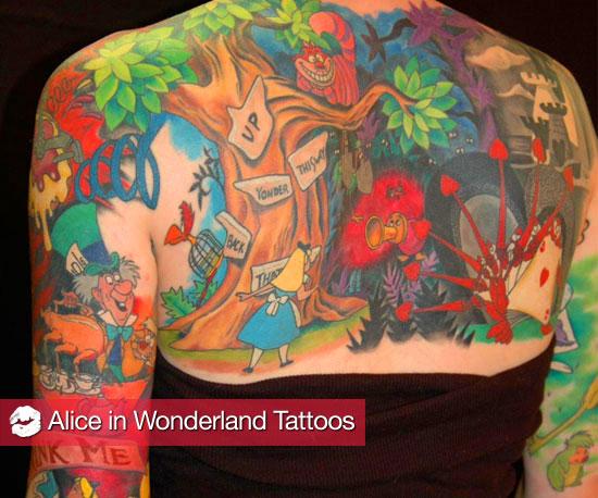 Alice in Wonderland Tattoos 2010-03-05 04:00:02