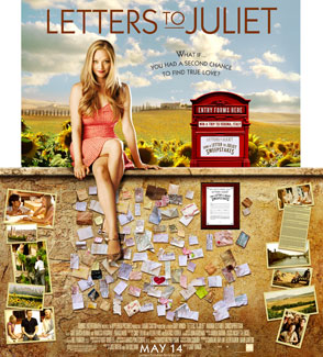 Exclusive Artwork Featuring Amanda Seyfried in Letters to Juliet 2010-03-04 12:30:57