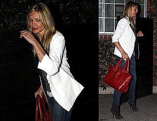 Photos of Cameron Diaz Going to a Salon in LA