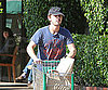 Slide Photo of Shia LaBeouf Grocery Shopping in LA