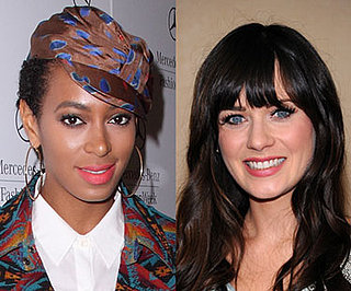 Solange Knowles and Zooey Deschanel Named Rimmel Spokeswomen 2010-03-05 10:30:09