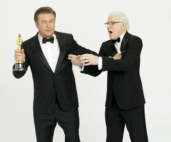Steve Martin and Alec Baldwin Hosting