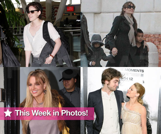 Slideshow of Photos of Robert Pattinson, Angelina Jolie, Johnny Depp, Britney Spears, and Kristen Stewart