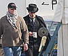 Slide Photo of Robert Pattinson on Bel Ami Set
